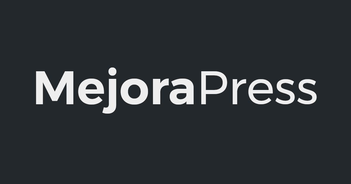MejoraPress logo