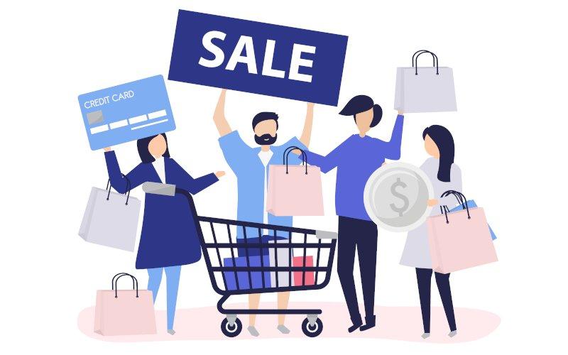 Las características del comercio electrónico