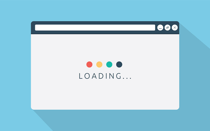 Velocidad de carga de un sitio web