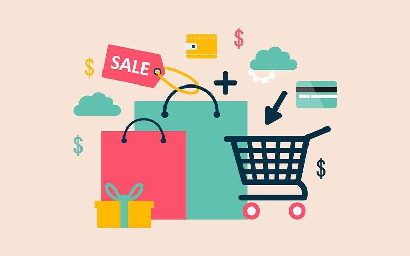 Venta de productos a través de un e-commerce